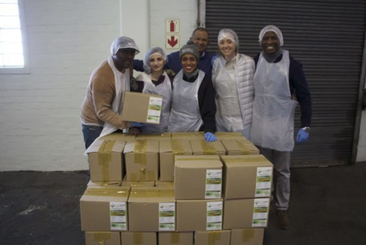 Food Bank Mandela Day Group With Packed Boxes 2 600X400