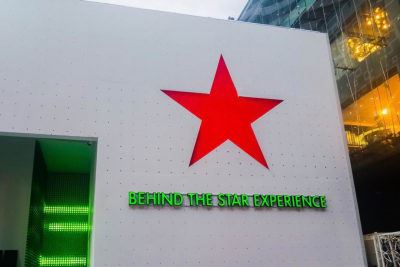 BEHIND THE STAR  EXPERIENCE