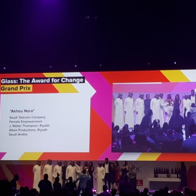 A stellar performance for J. Walter Thompson at Dubai Lynx 2019 winning two Grands Prix and 11 further awards