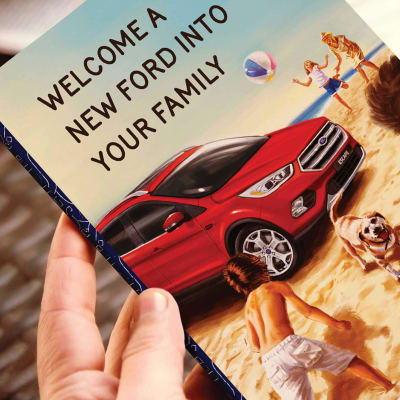 Welcome A New Ford Into Your Family