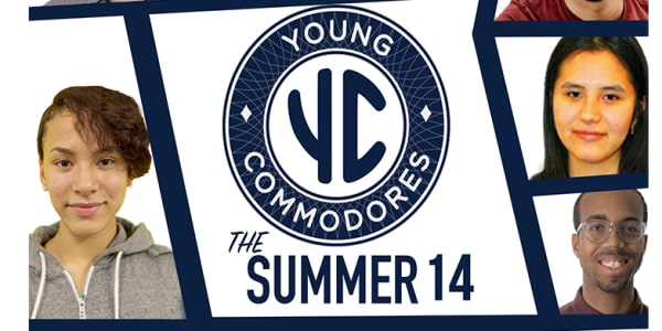 The Summer 14: Young Commodores Start Ad Journey