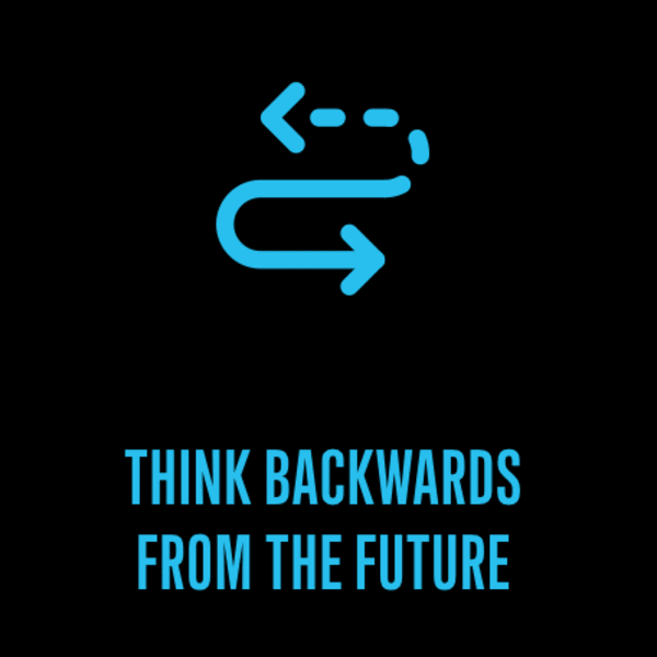 Think Backwards from the Future