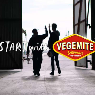 Starts with Vegemite