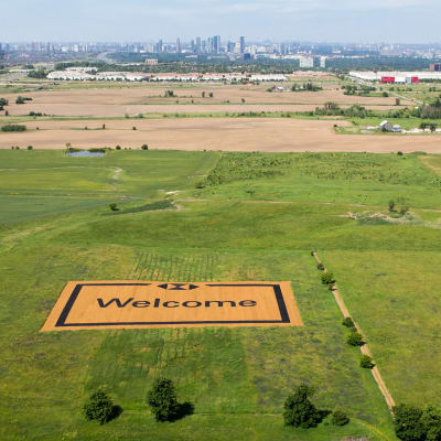 The World's Largest Welcome Mat