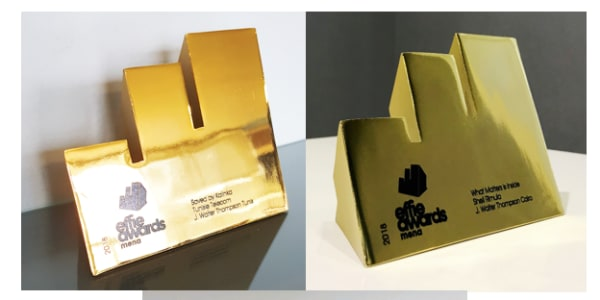 J. Walter Thompson lands first Gold for JWT Tunis and first ever Effie award in Jordan at MENA Effies 2018