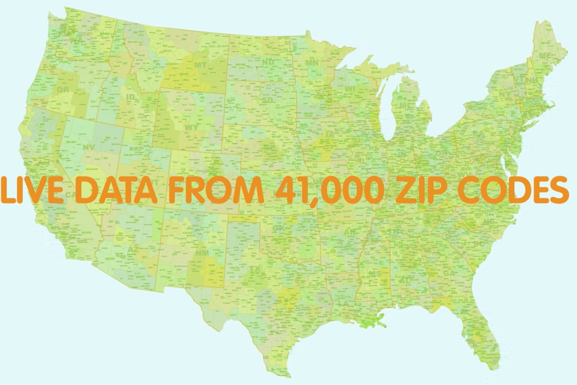 Allergy Impact 41 K Zip Codes