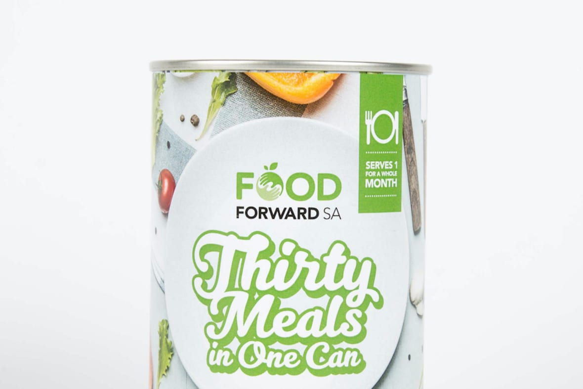 Food Forward 30 Meals Can Image