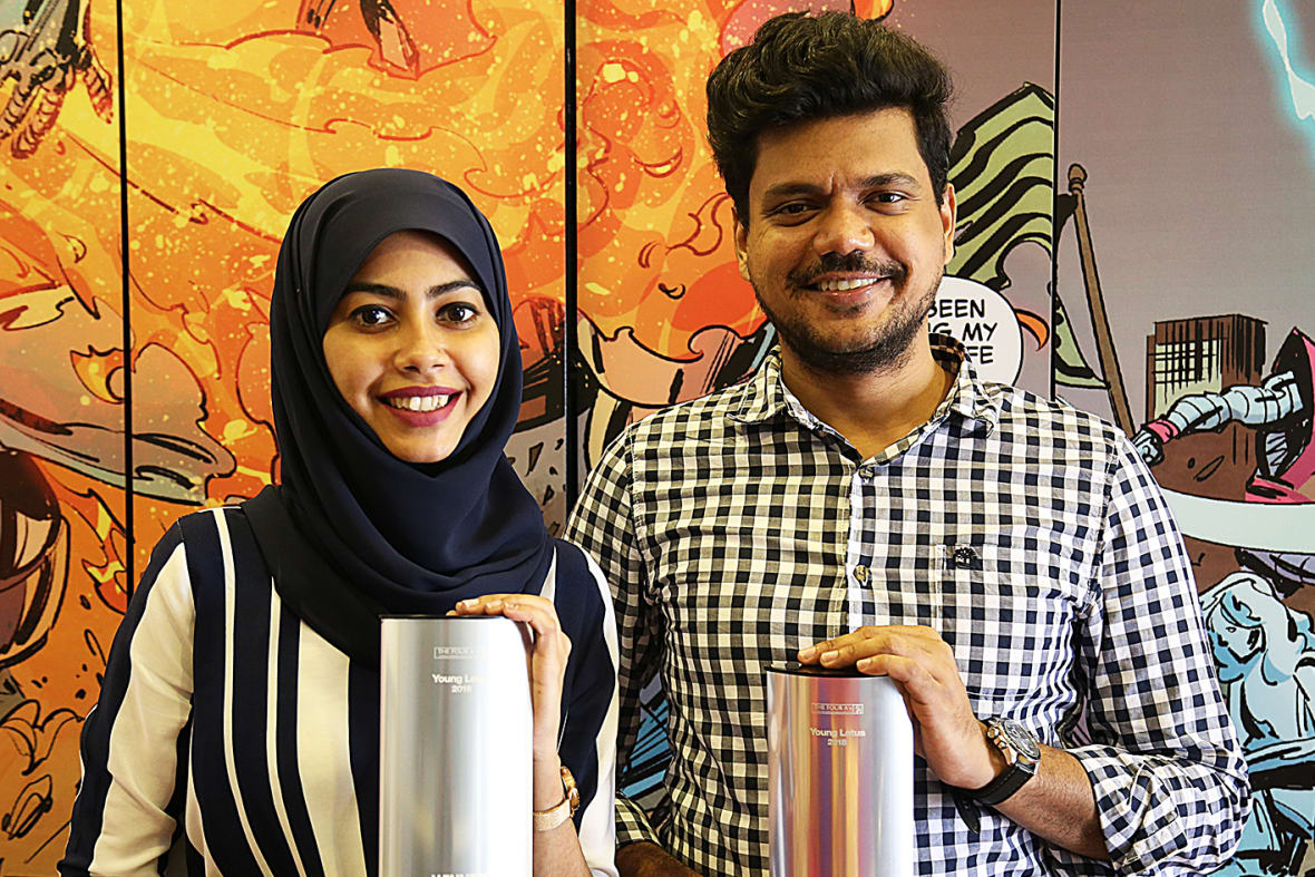 Akila Abdul Azeez And Minendra Sarathchandra Young Lotus 2018 Winners From J  Walter Thompson Sri Lanka