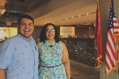 Intern Spotlight: Dana Summers and Zachary Rocha