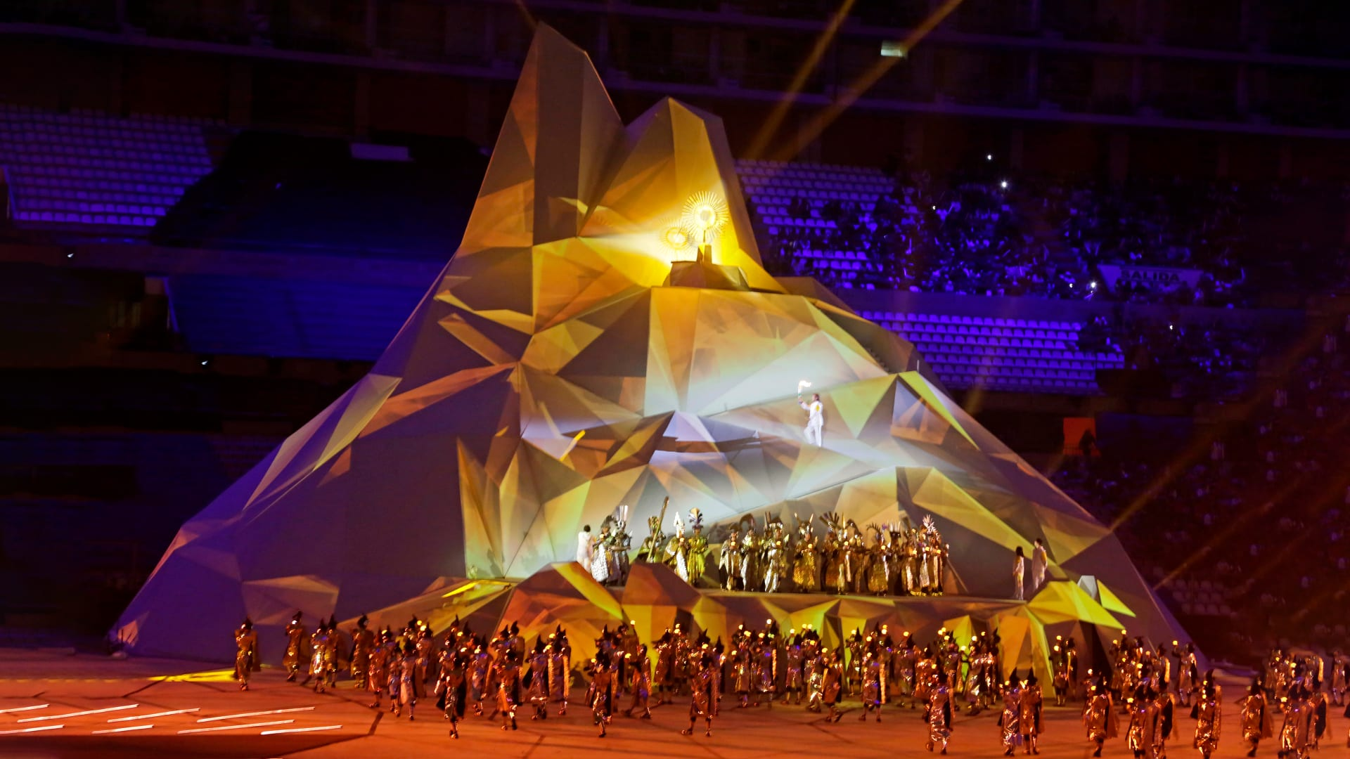 opening ceremony image of Lima 2019