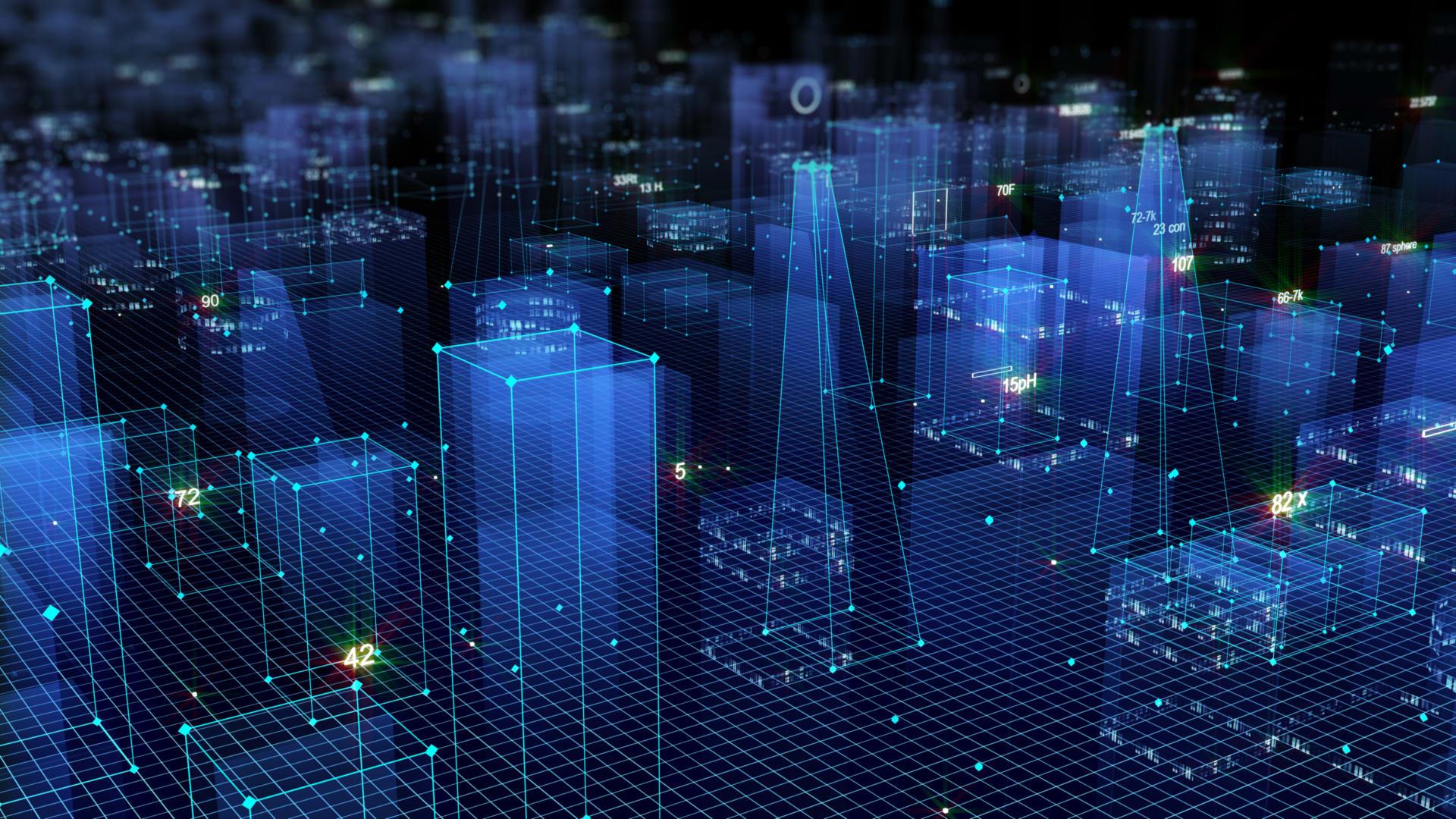 digital skyscrapers