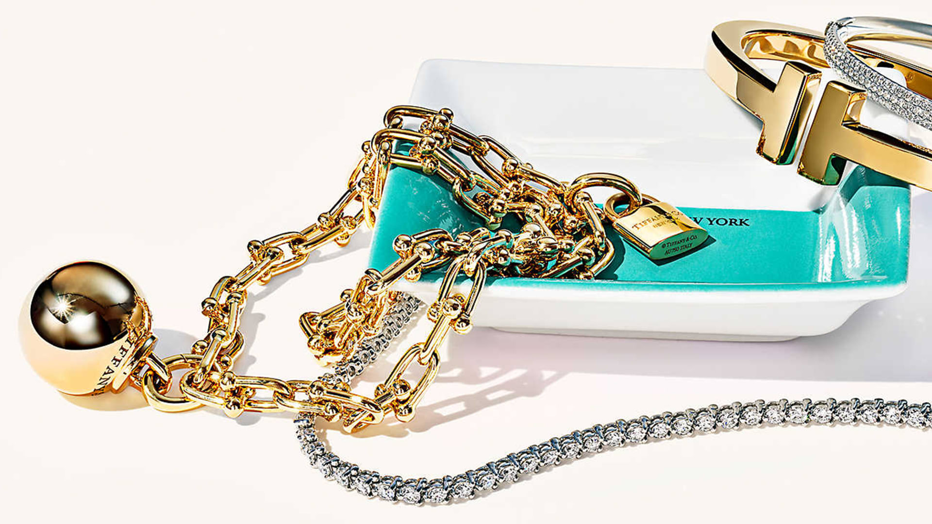 gold juwellery Tiffany's