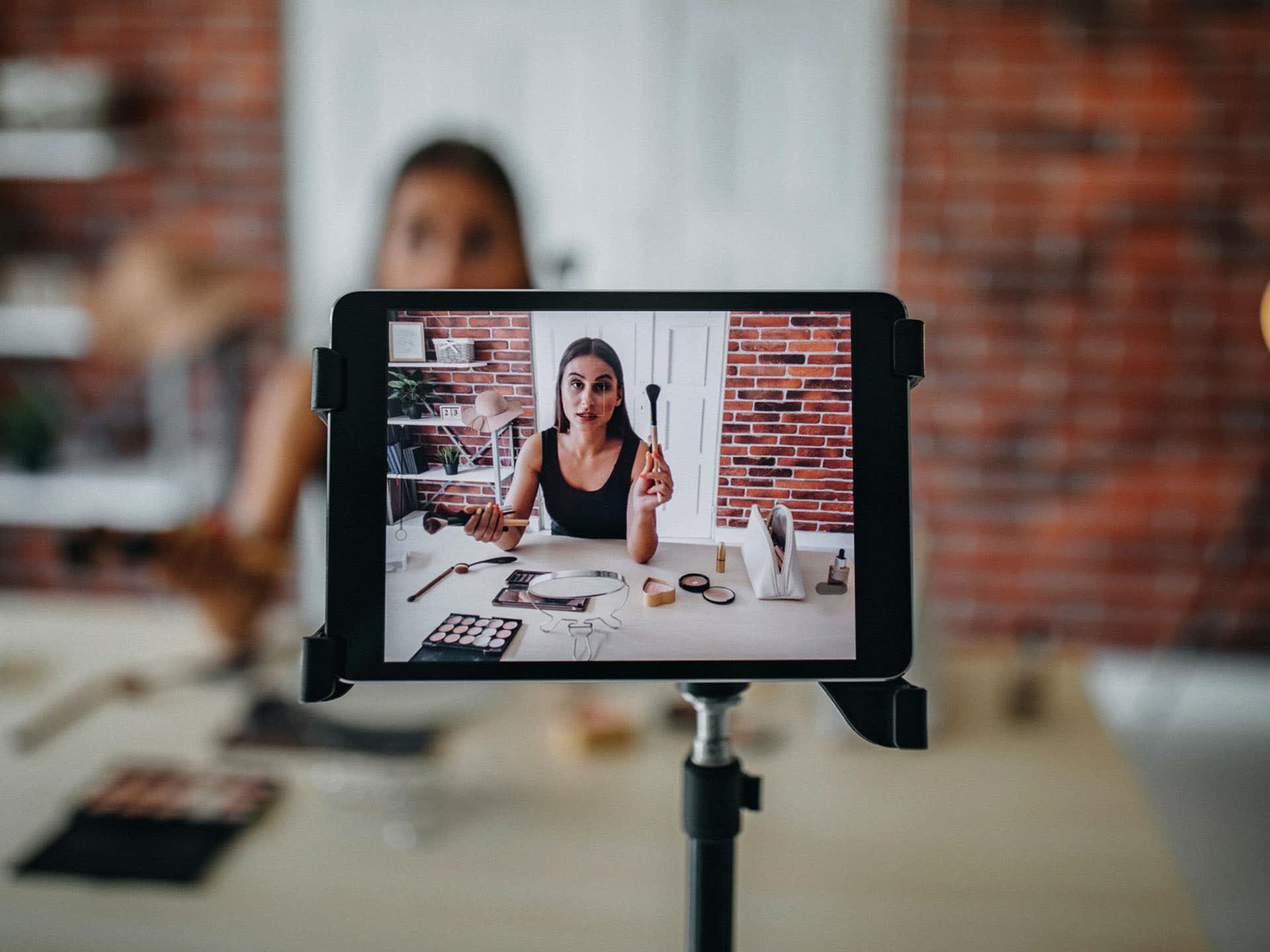 Influencer video