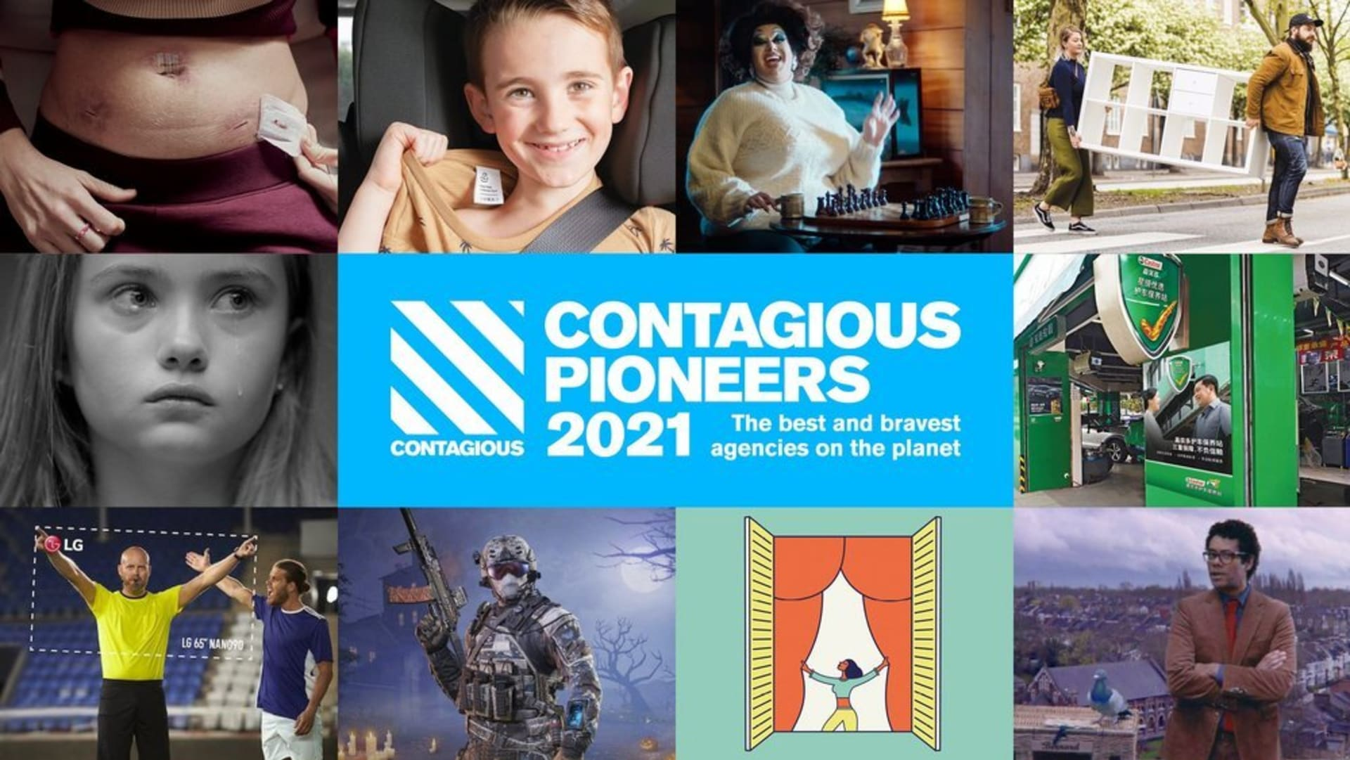 Contagious Pioneers 2021 hero visual