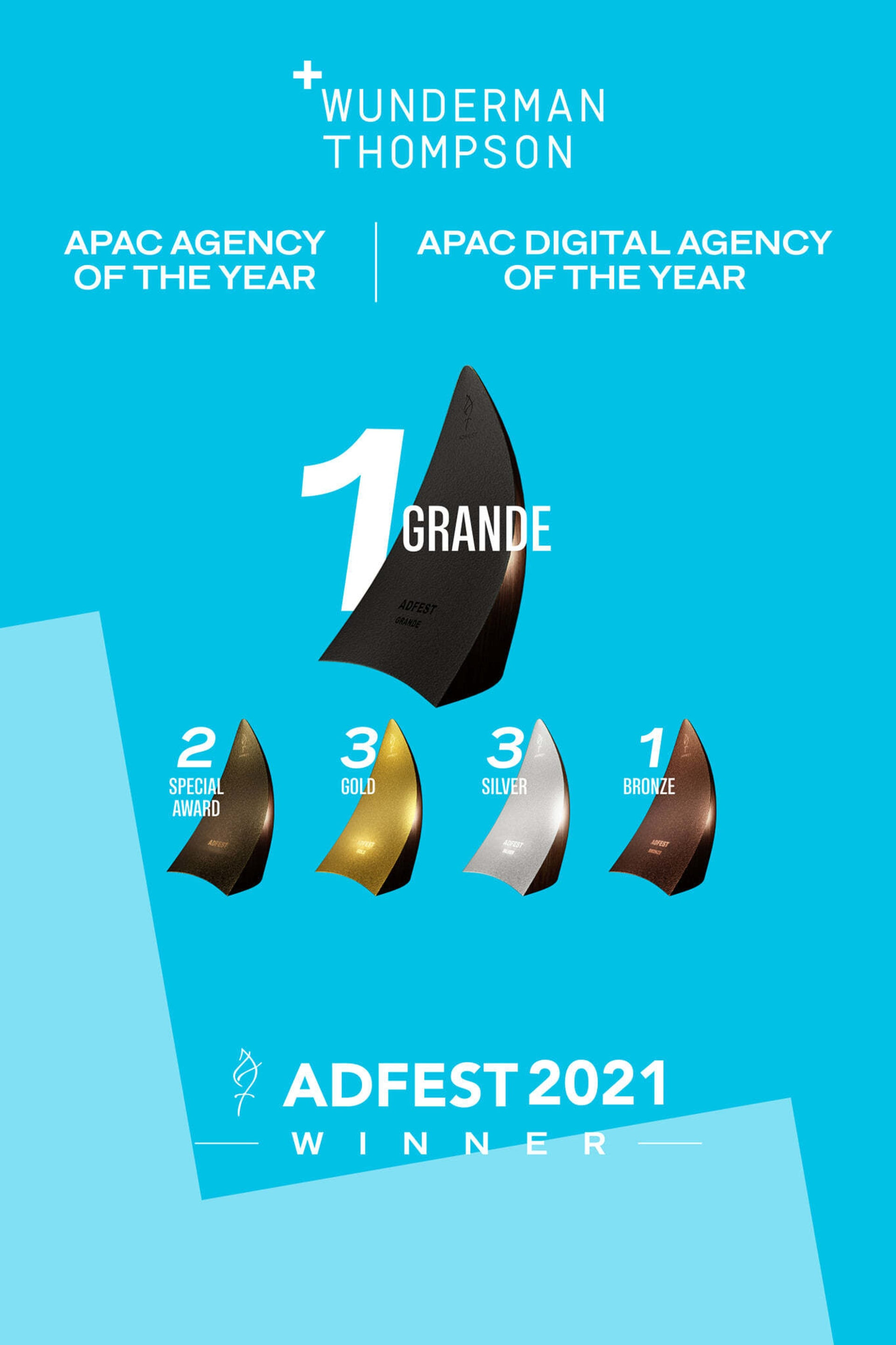 Agency of the Year 2021 Ad Fest poster