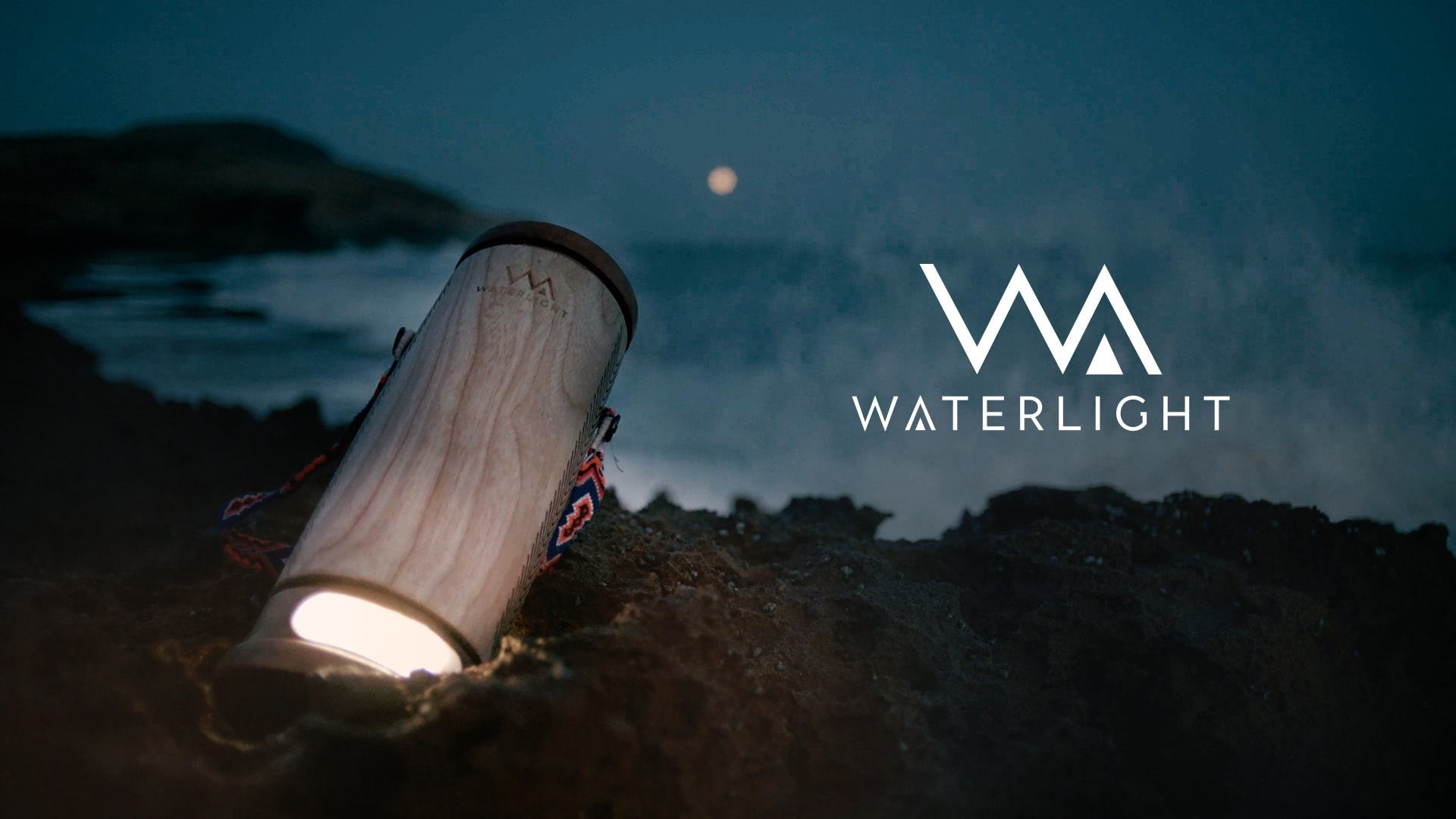 WaterLight at night