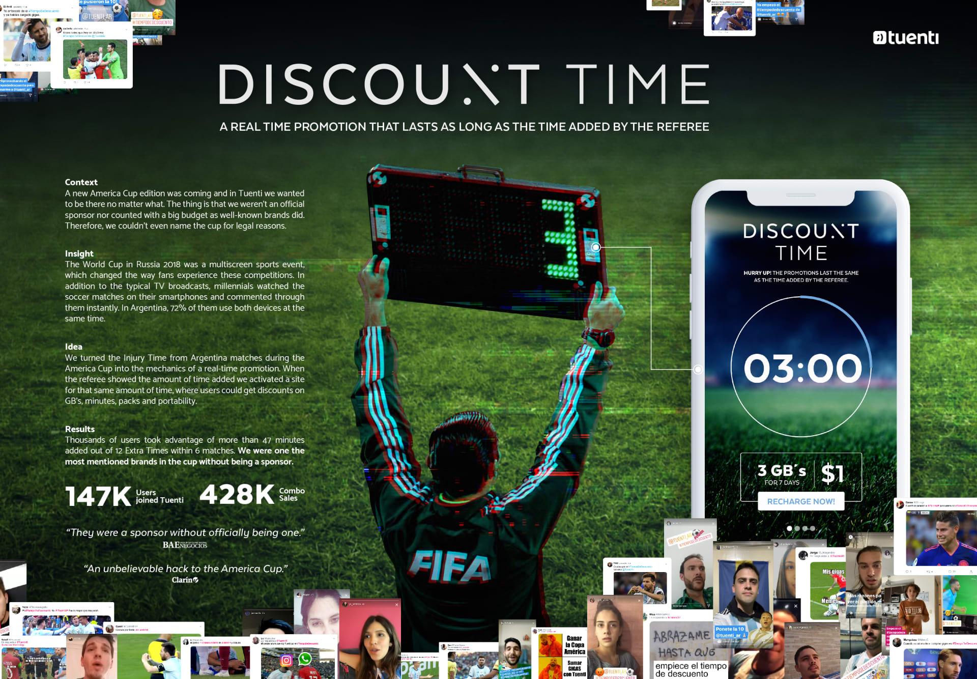 Tuenti Discount Time Board