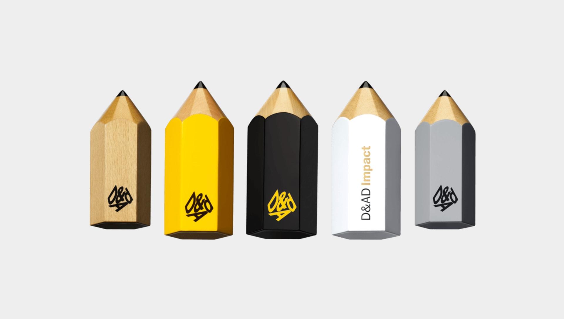 D&AD Awards pencils