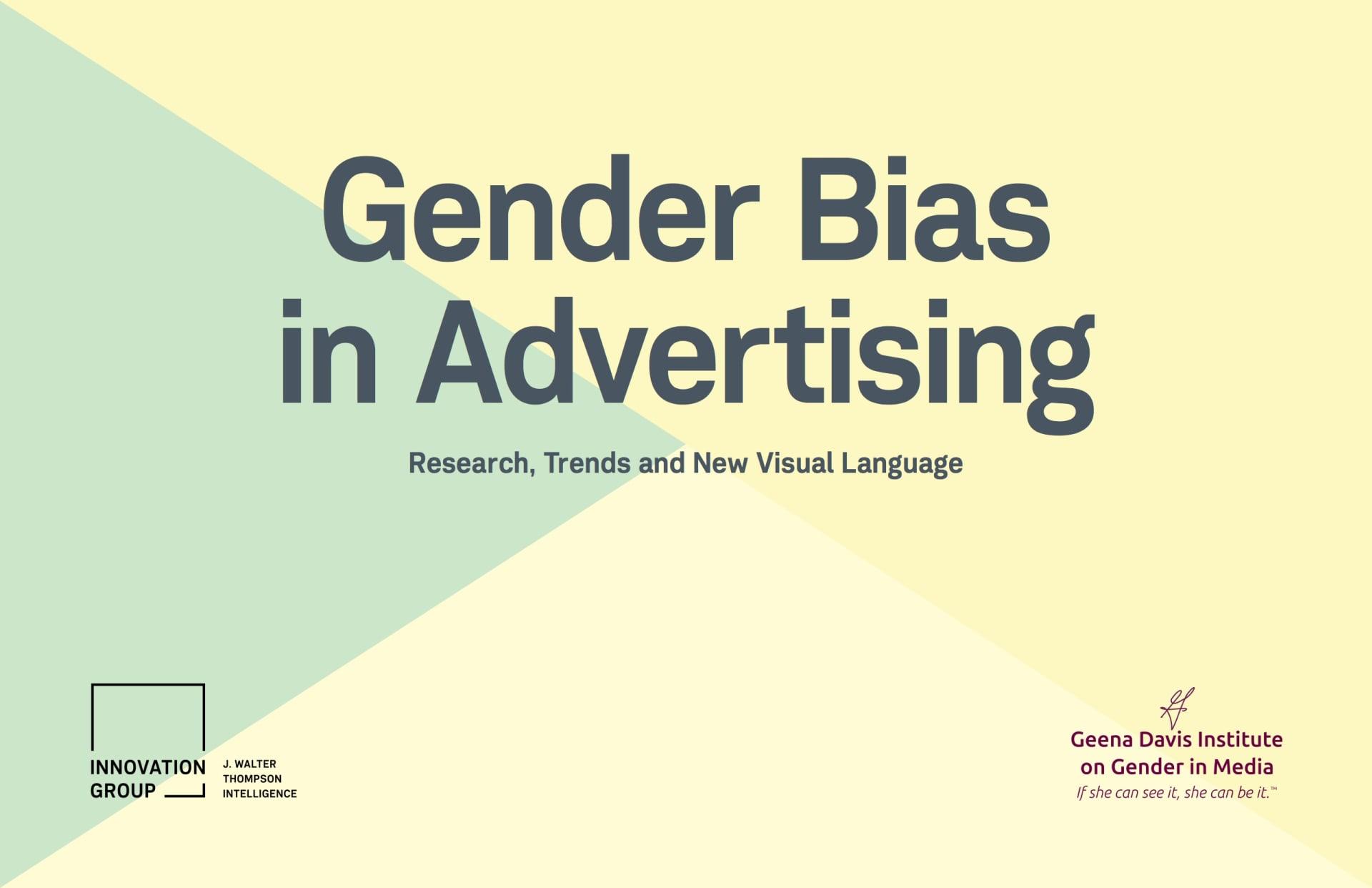 Gender Bias in Advertising