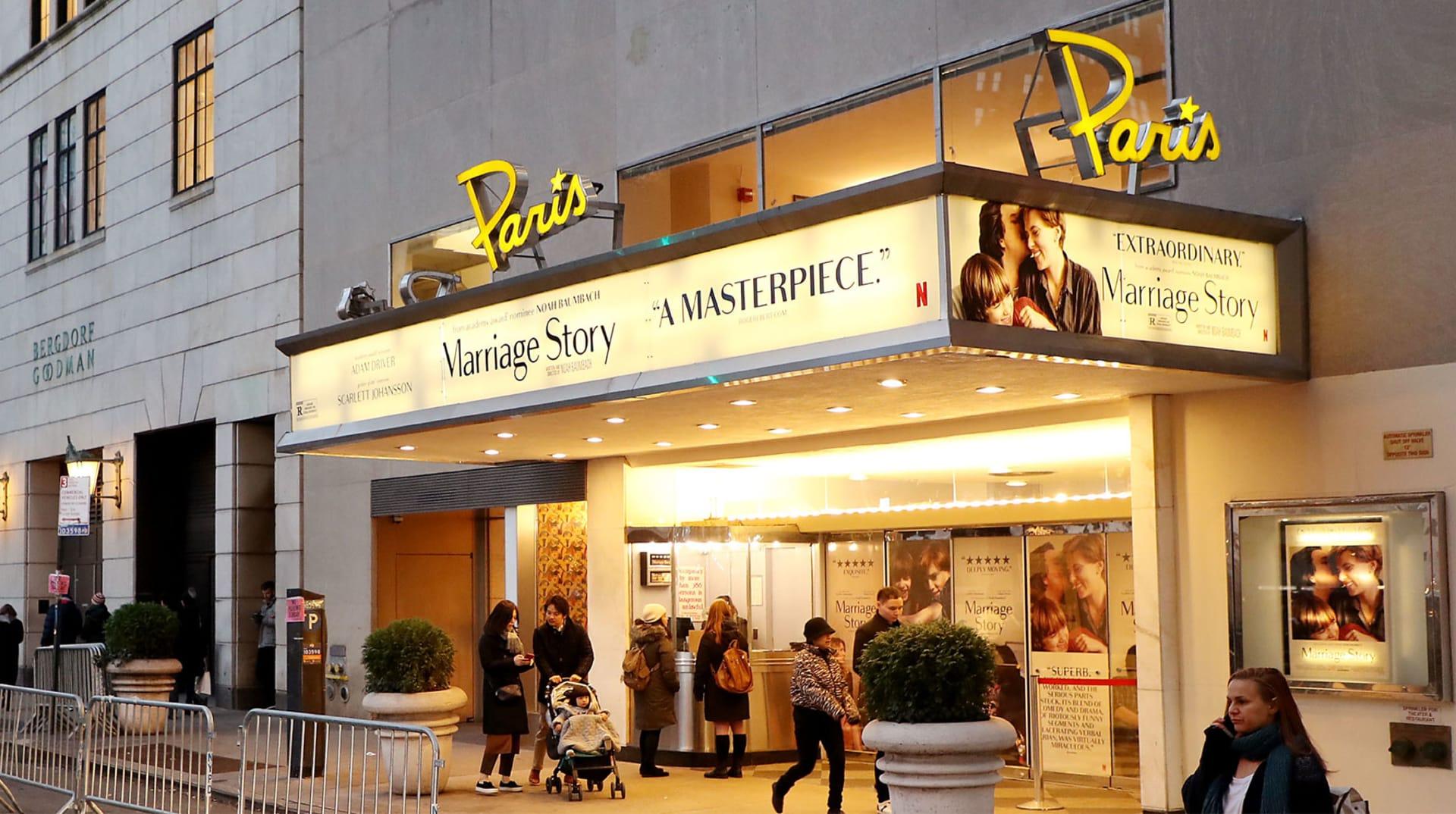 HERO Netflix Paris theater