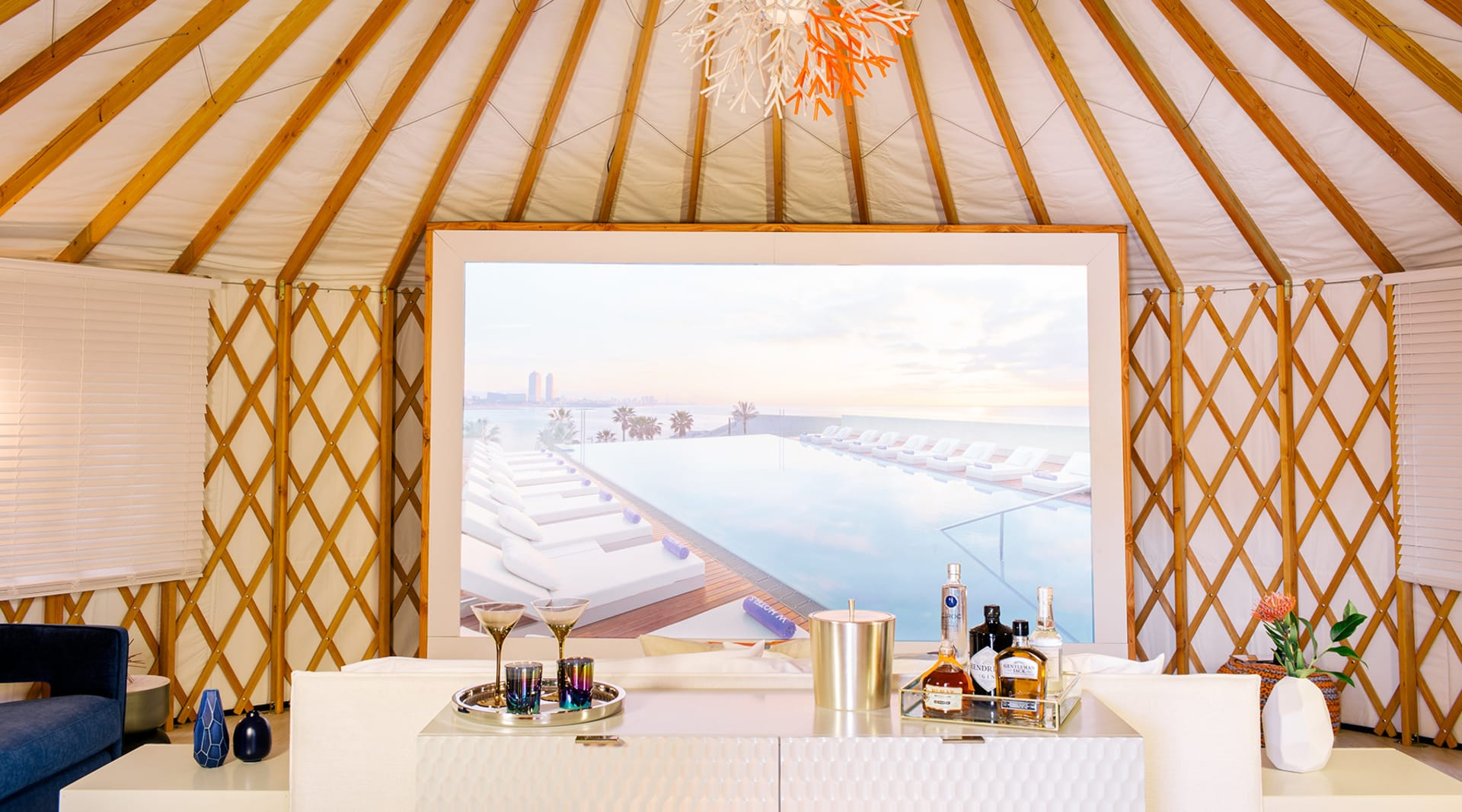 W Coachella Barcelona Yurt 4