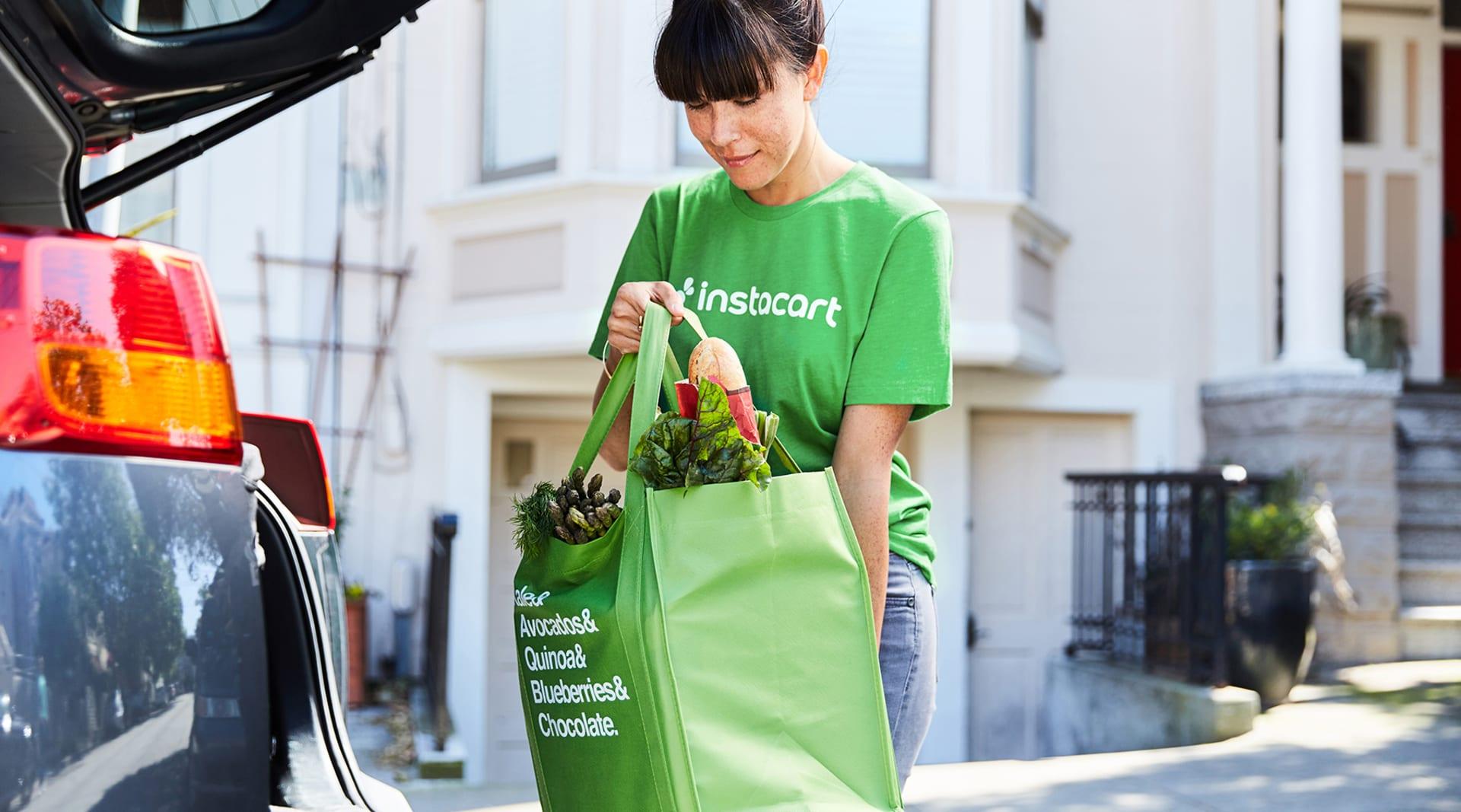 HERO instacart groceries car delivery