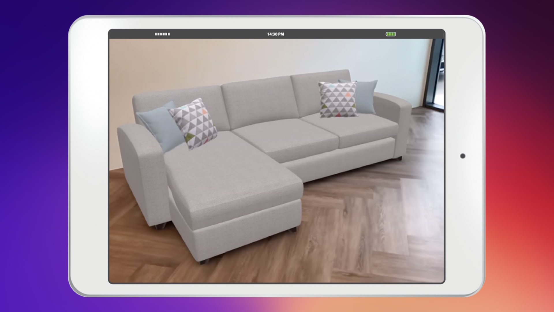 Brining the lounge to life DFS launches new in browser AR function
