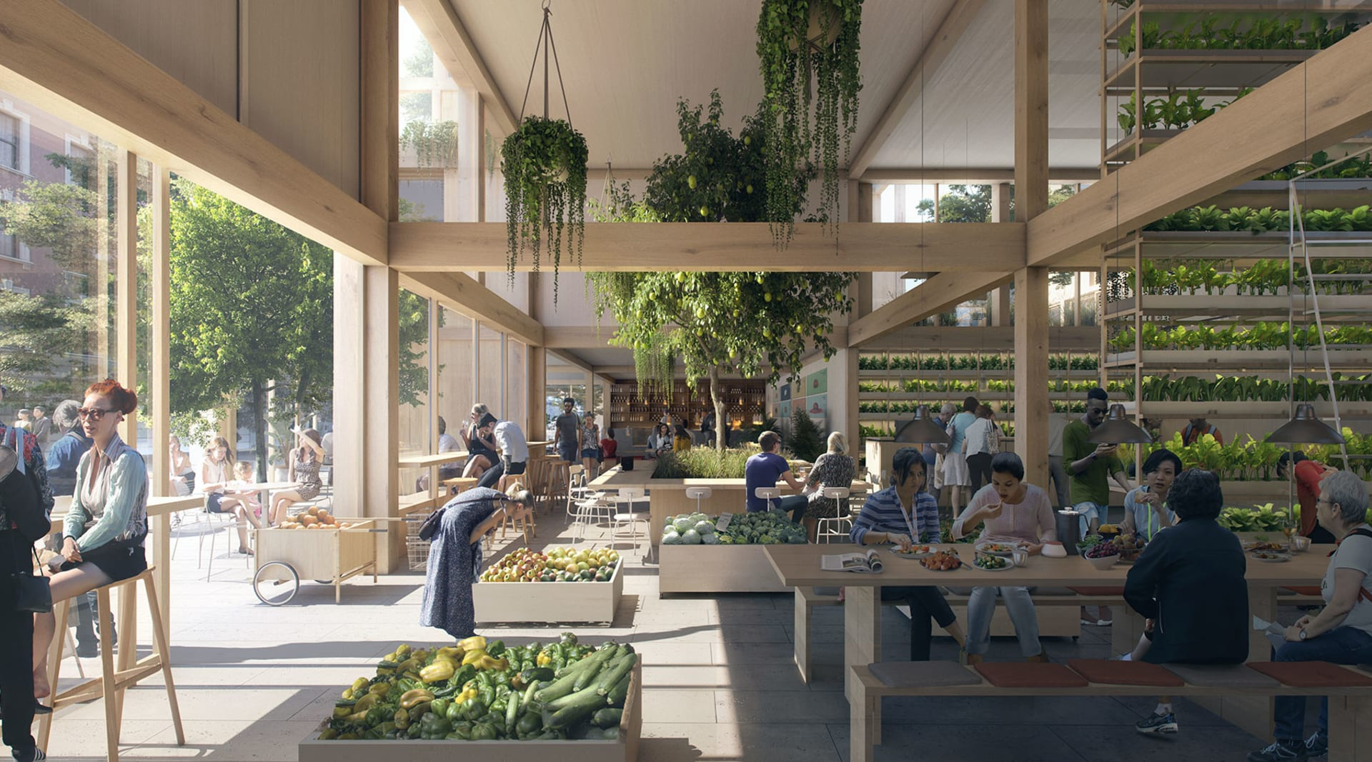 HERO Grow Share Eat Made by EFFEKT Architects for SPACE10