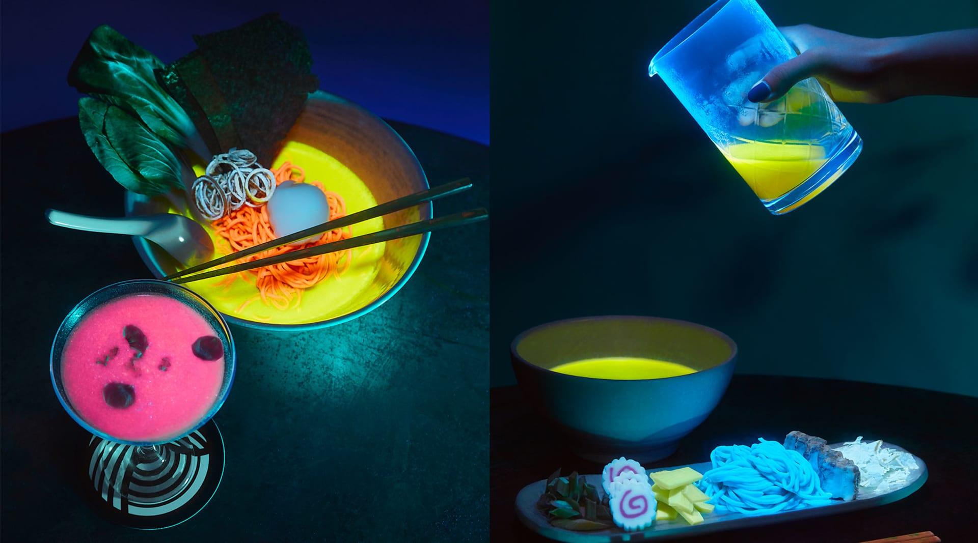 HERO glow in the dark ramen roundup