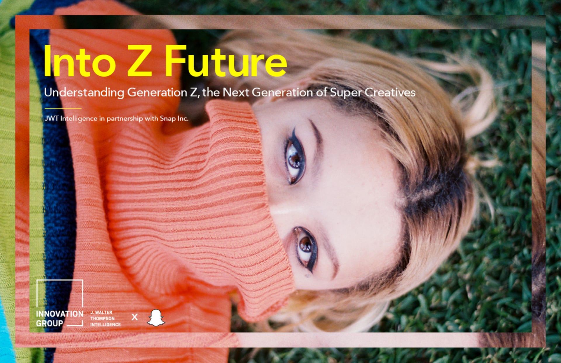 Into Z Future COVER