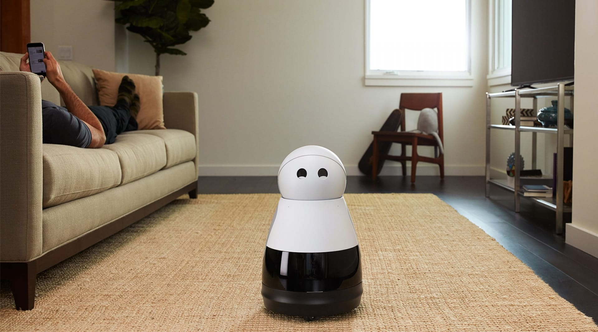 WEB Kuri Speaks Robot 1
