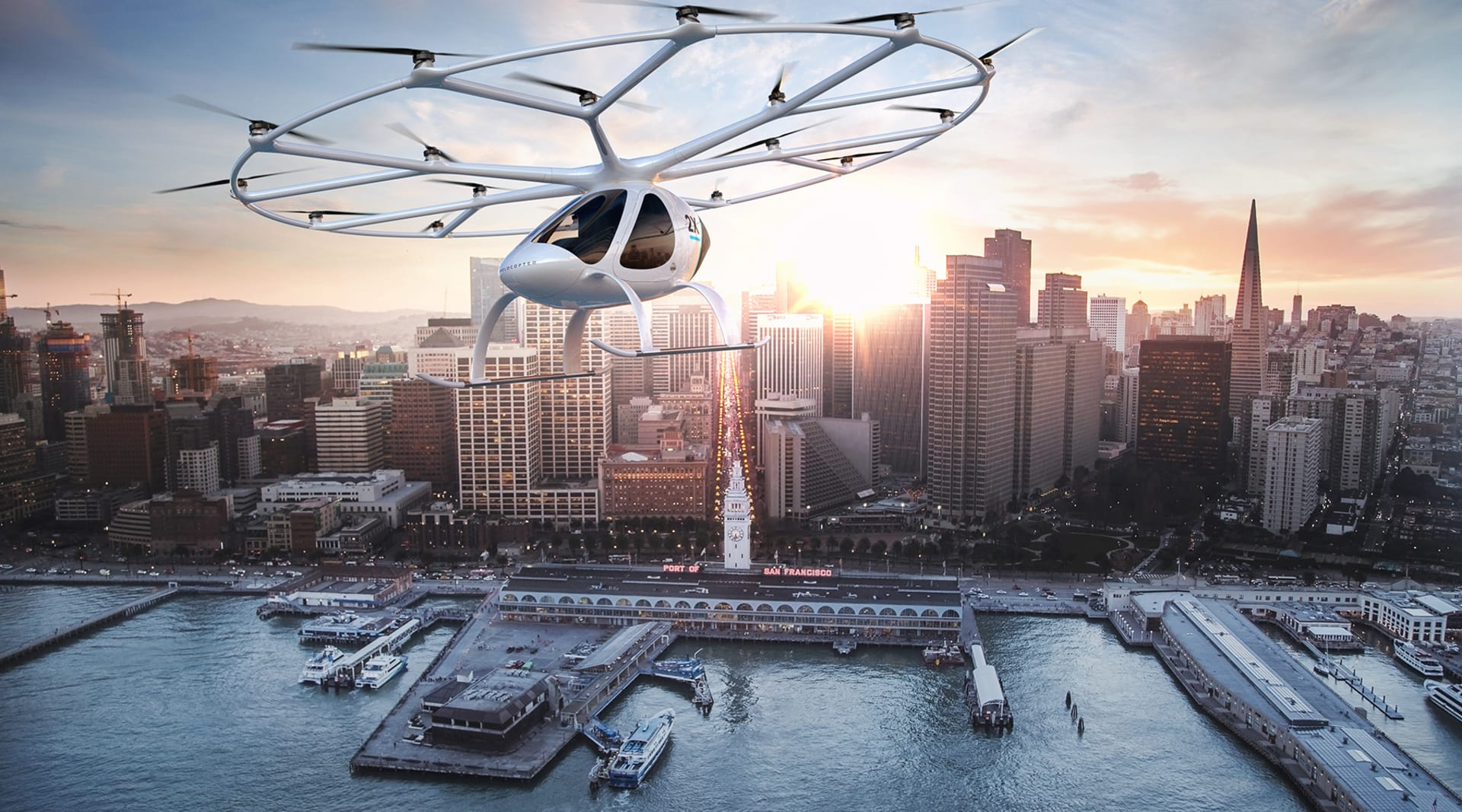 HERO volocopter 2x outbound