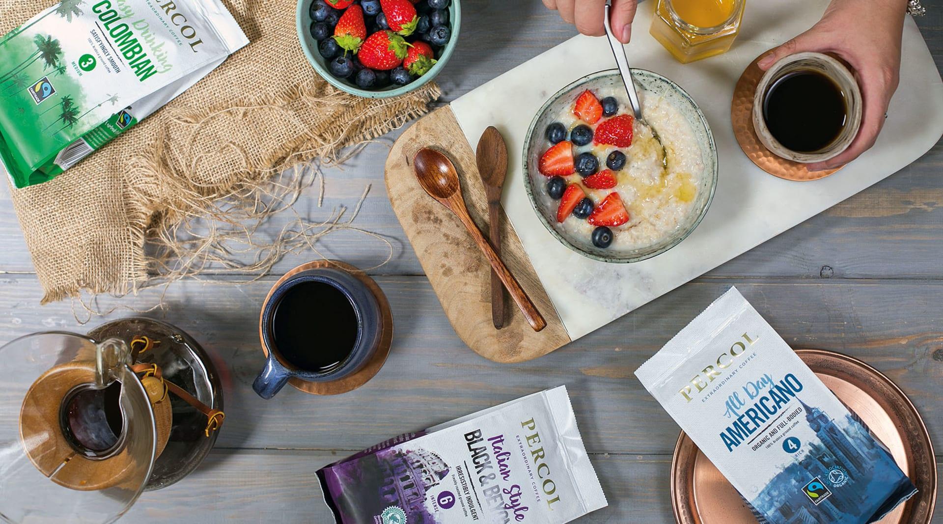 JWT Ground Coffee Breakfast Spread