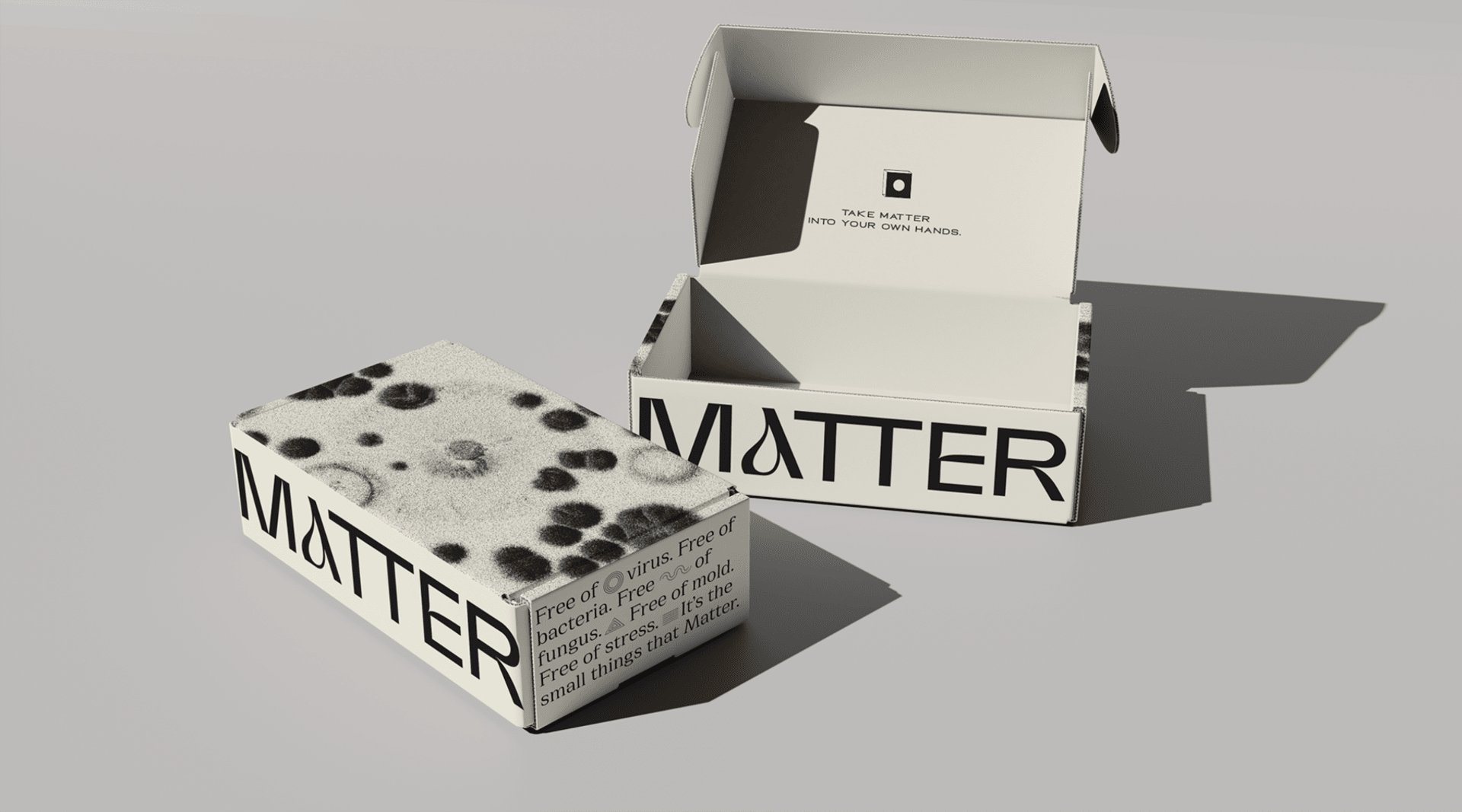 HERO MATTER Shipping Box