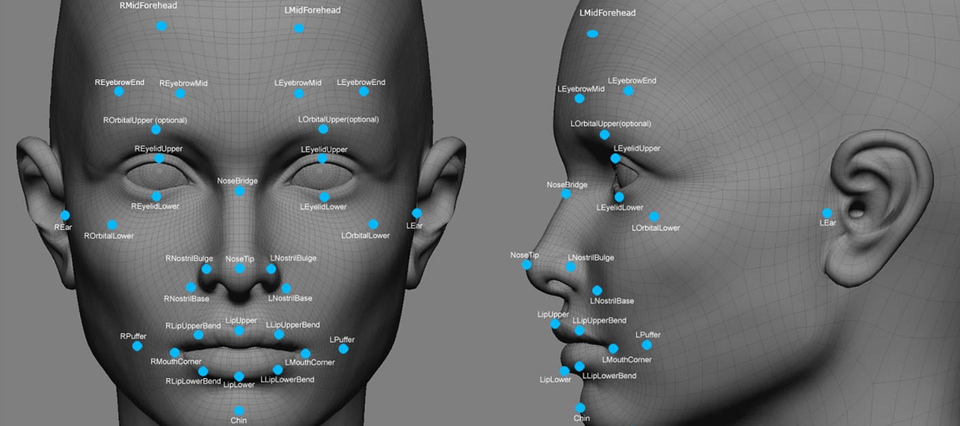 WEB Deep Face facial recognition app by Facebook