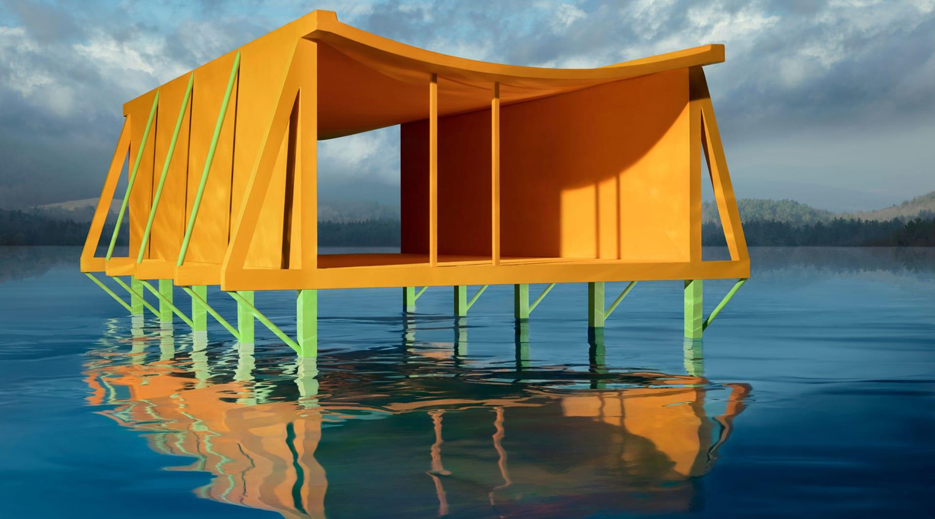 HERO JC Orange House on Water 2019