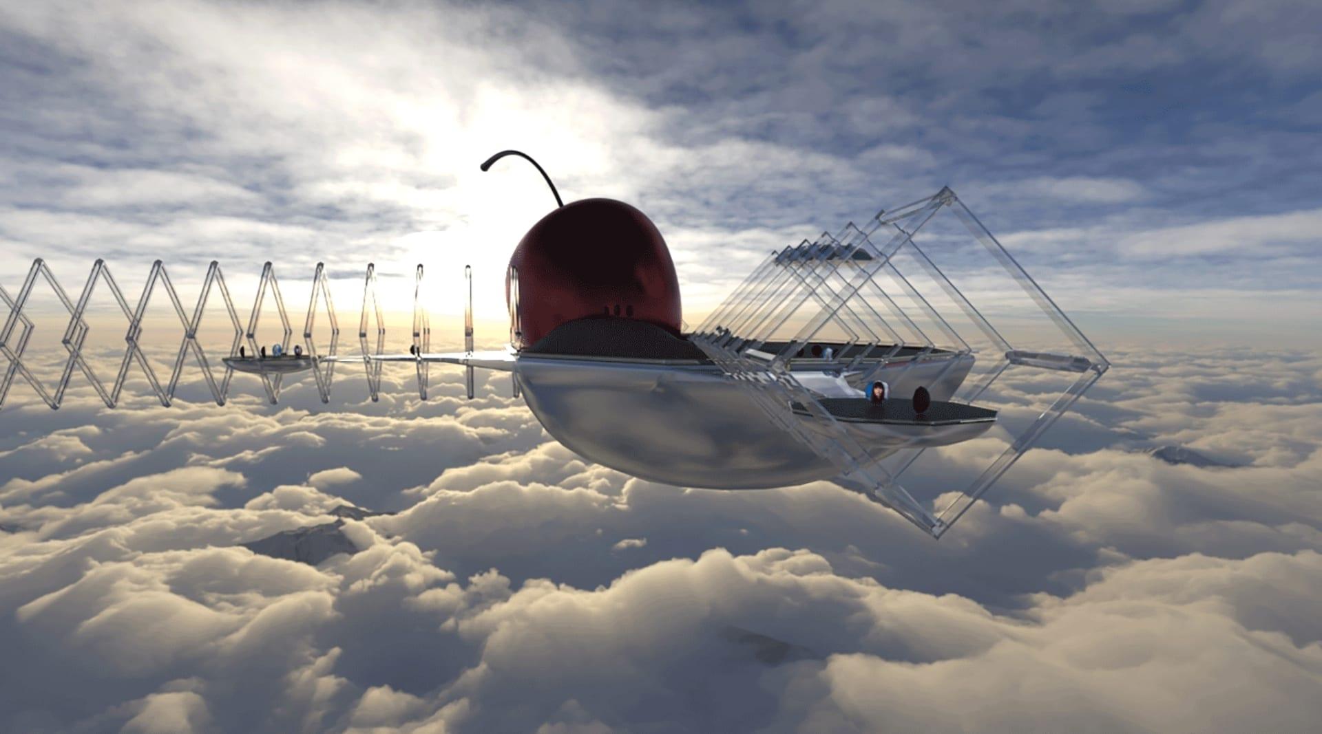 HERO Cherry Clouds Nowhere