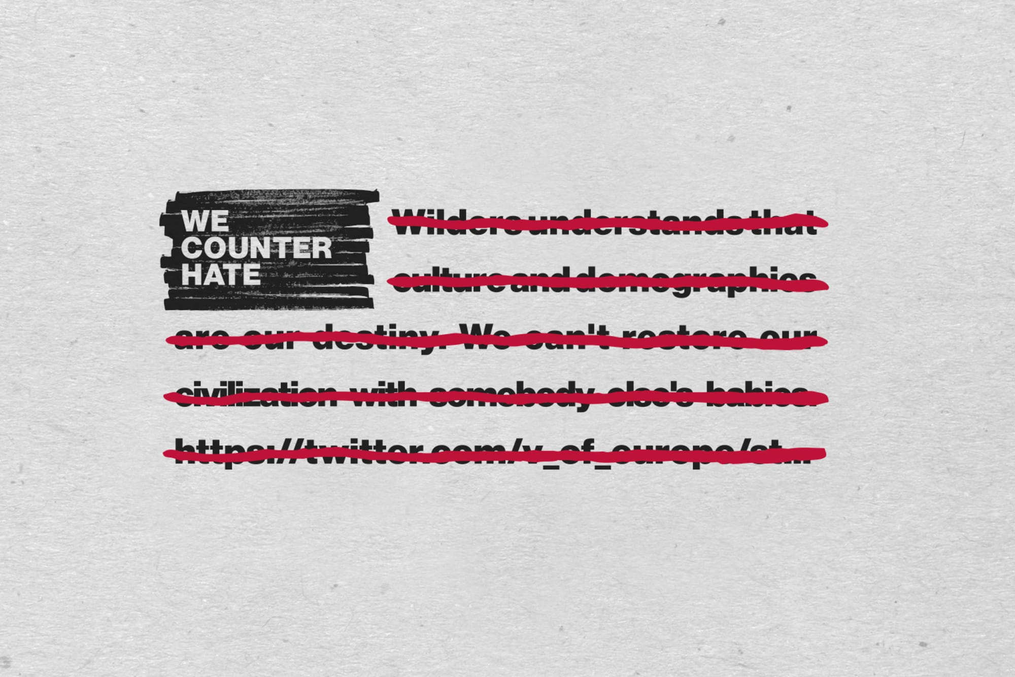 We Counter Hate