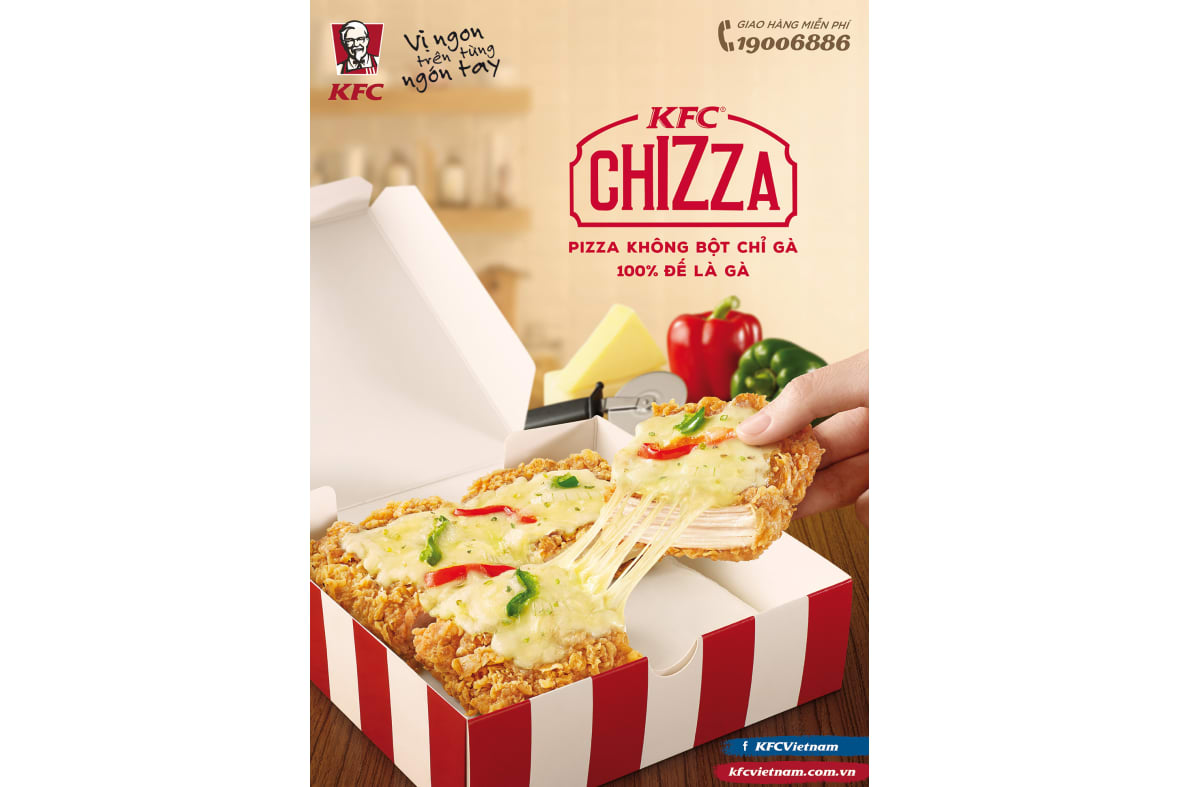 Kfc Chizza Hires
