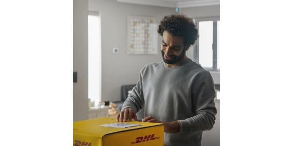 DHL Creates The Human Network, with a little help from Mo Salah