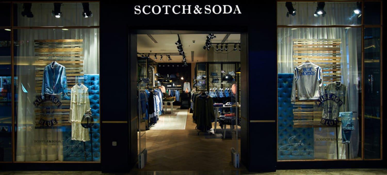 A Scotch & Soda shopfront