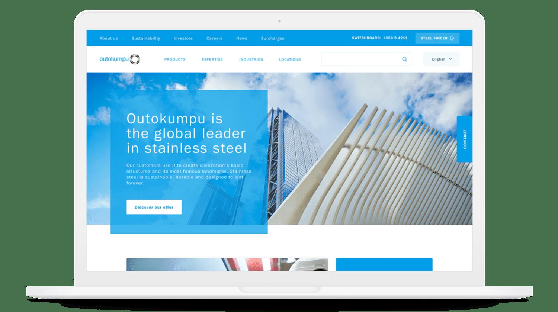 01 Outokumpu Homepage