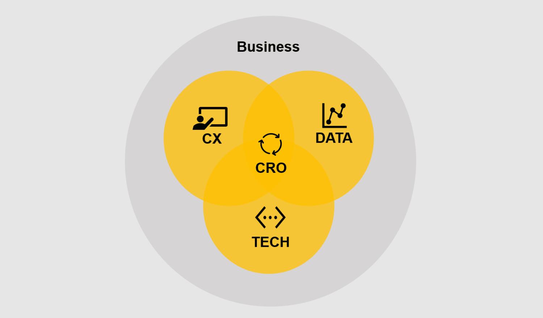 graph explaining the CRO process of WT Commerce