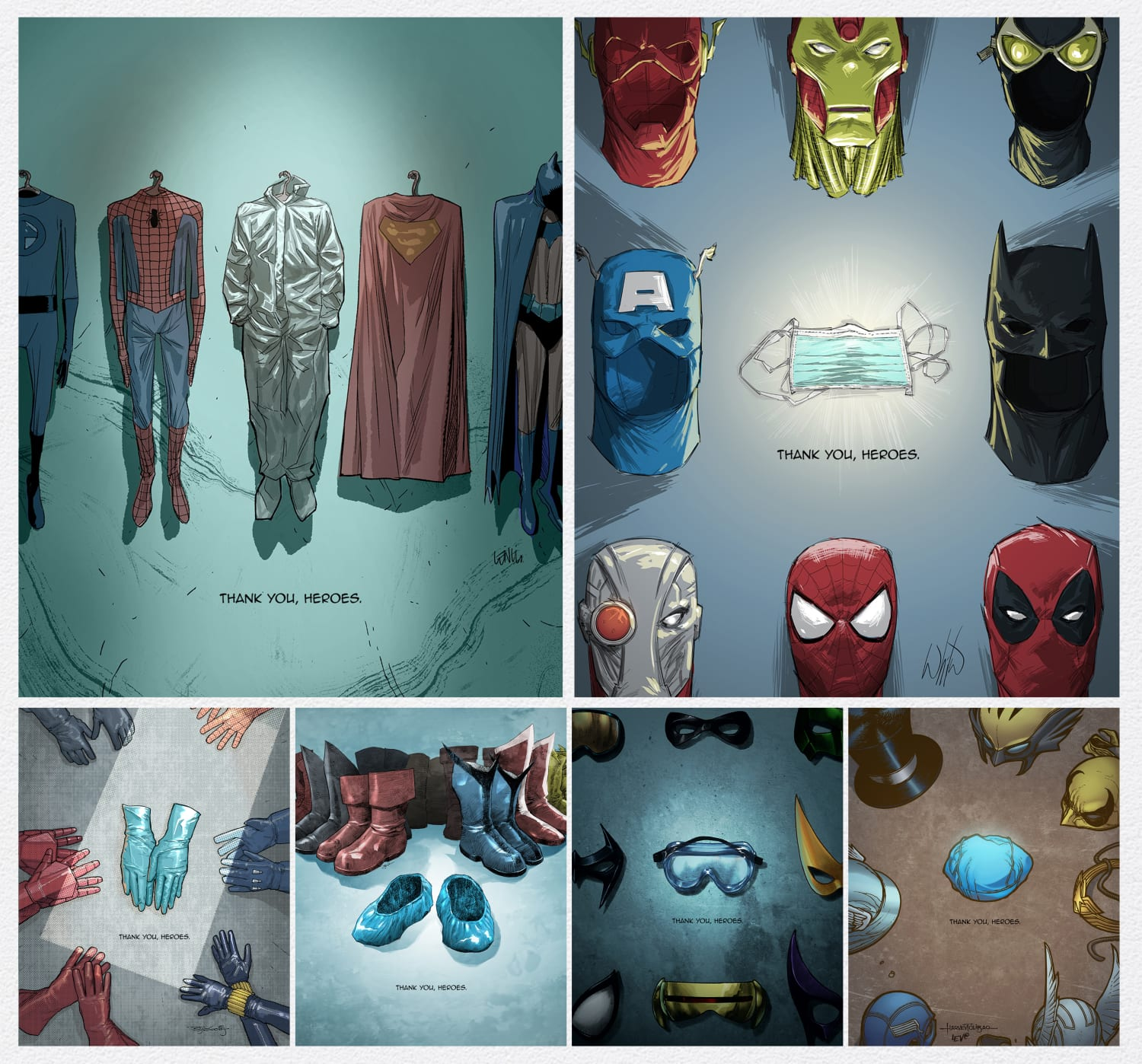 Suits For Heroes board