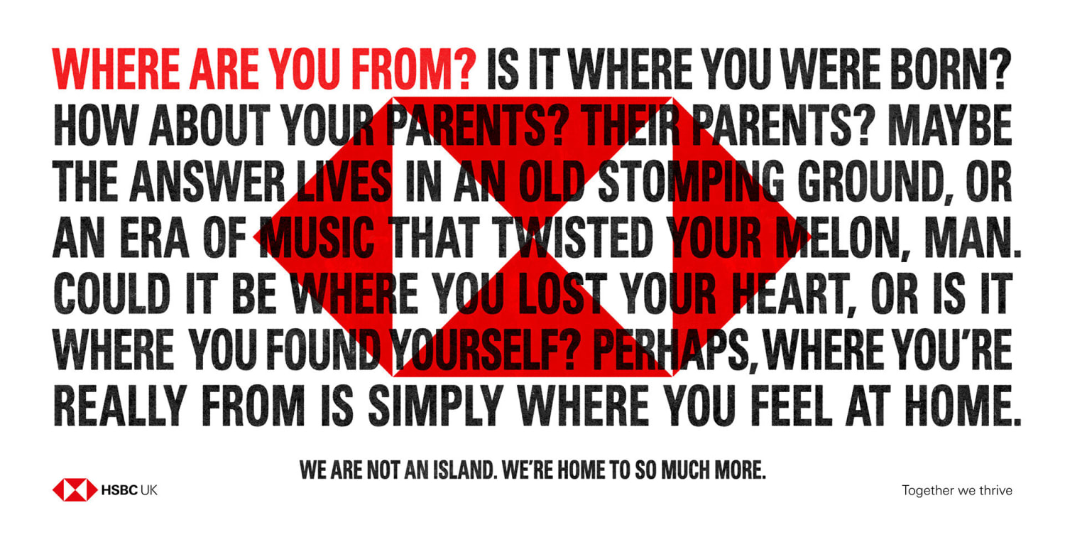 Where are you from manifesto