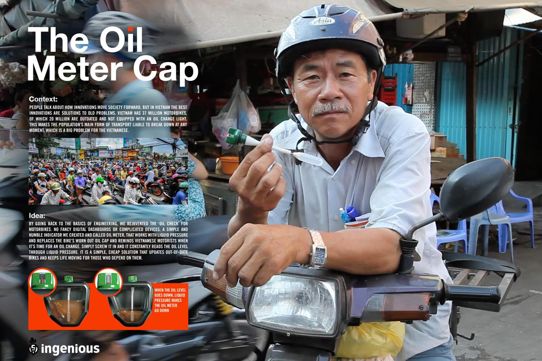 OIL METER CAP IDEA BOARD