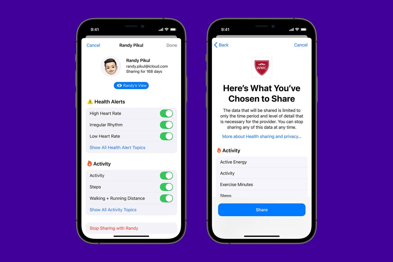 Apps Apple WWDC21 Healthcare 3