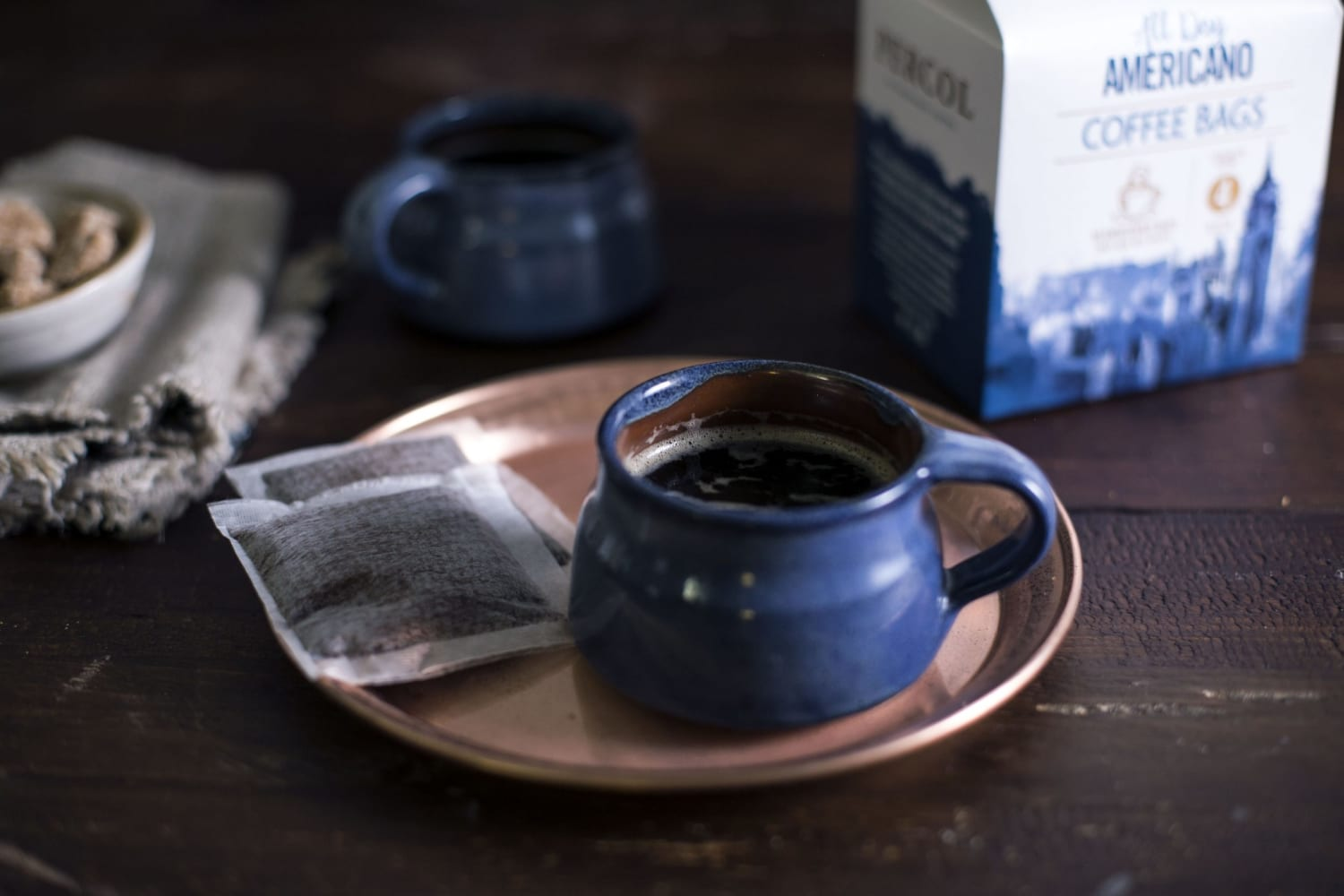 All Day Americano Coffee Bags Cup