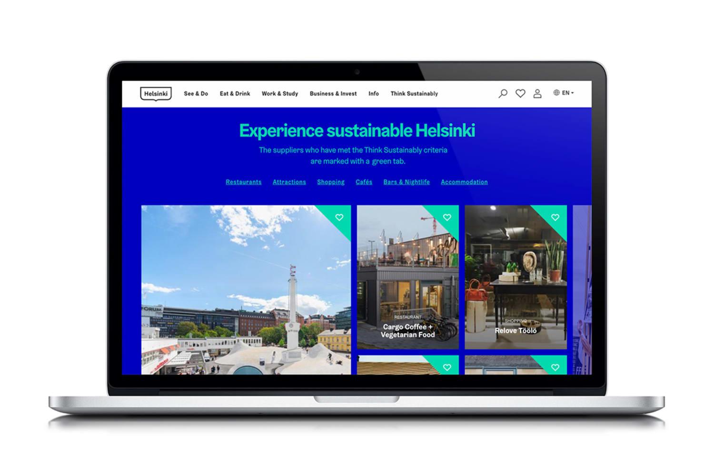 WEB Think Sustainably desktop