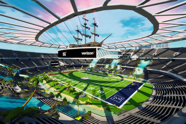 WEB 5 G Stadium in Fortnite Creative 2